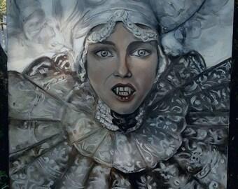 Oil Painting Bram Stoker's Dracula
