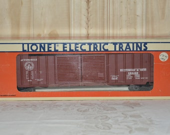 Lionel Electric Trains Baltimore and Ohio Double Door Boxcar 6-17209