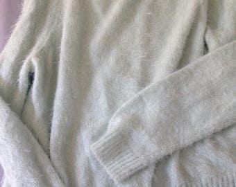 VERY Soft Pastel Blue Sweater