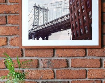 Manhattan Bridge photo print