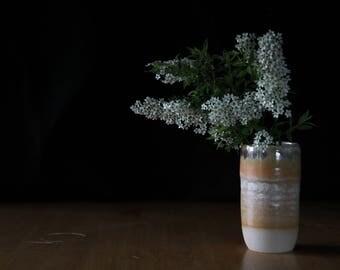 Orange vase