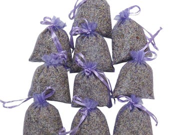 Organza Bags Wedding Favor 10 PCS  Lavender Sachets Set