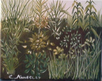 Original Painting - Grasses