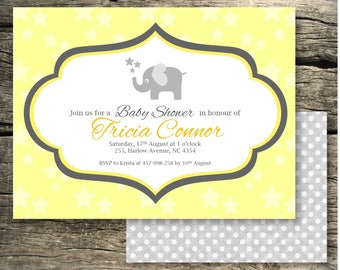 Baby Shower Invitation/ Many colours available/ Printable/ Baby Shower Invitation/Baby Shower Invitation
