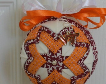 Personalized Quilted Ornament