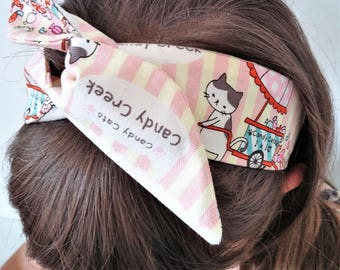 OUTLET!!! SALT!!! Headband, headband with Underwire, girl, girl, woman, rockabilly