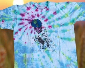 Tie Dye Think Globally