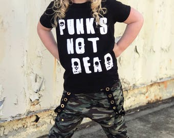 PUNK'S NOT DEAD shirt - Toddler Shirt, toddler shirts, toddler tshirt, toddler girl clothes, toddler boy clothes, girls shirt, boys shirt