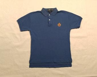 Vintage Ralph Lauren Polo - Navy Men's Small