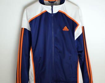 Adidas Vintage Jacket Men M Classic Adidas jacket Adidas Tracksuit Top 3 Stripes Adidas Vintage jacket women 90s jacket Vintage windbreaker