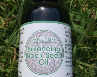 Black Seed Oil Super Strong Virgin Cold Pressed Balancing