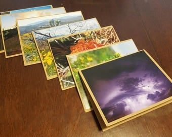 Assorted Desert Photography Blank Cards