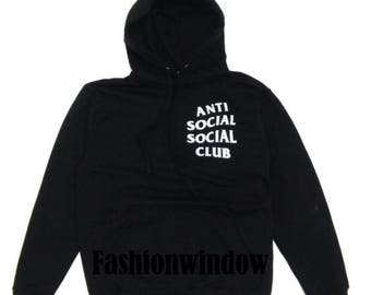Anti Social Social Club Hoodie | Kanye West Anti Social Pullover | I Feel like Pablo | ASSC Yeezy