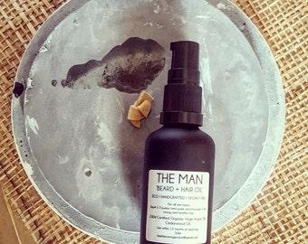 The Man - Beard and hair oil  50ml