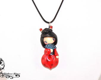 Collier Chinoise en fimo
