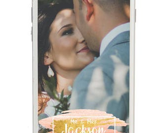 Snapchat Geofilter Wedding: Custom Geofilter, Snapchat Geofilter, Personalized Geofilter, Wedding Snapchat Filter, Custom Wedding Geofilter