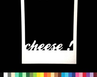lot 2 cuts frame cheese scrapbooking embellishment die cut set cut