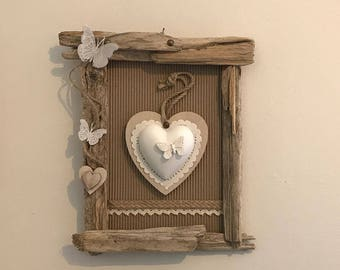 Romantic hearts and Driftwood