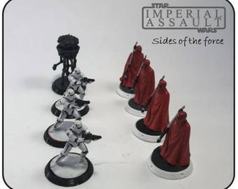 Star Wars Imperial Assault Figure bases
