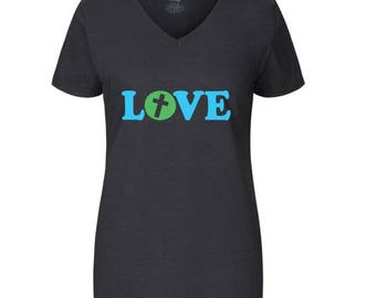 Women's Cross Love T-Shirt