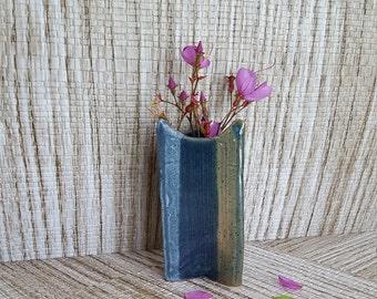 Pottery Bud Vase