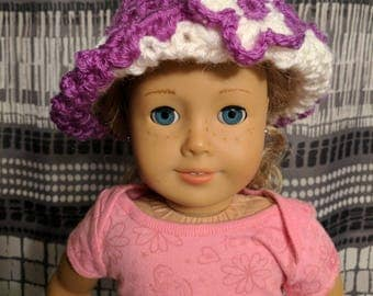 "18"" Doll Hat/American Girl Doll Hat/Doll Hat/Ready To Ship"