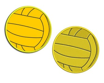 Volleyball Embroidery design Applique - Machine embroidery design