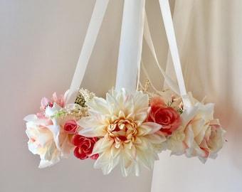 Nursery Flower Mobile