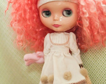 Custom Blythe Dolls For Sale by Custom CottonCandy Mohair Blythe EBL