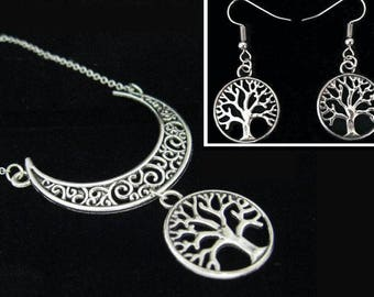 """Tree of life under the Crescent Moon"" set"