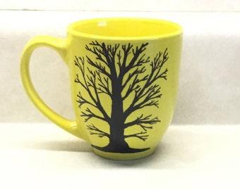 Acrylic on ceramic, baked, sealed, permanent