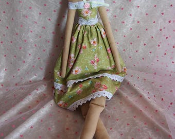 fabric doll style tilda decor