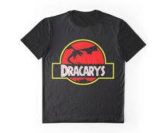 game of thrones Daenerys Targaryen dracarys shirt unisex S-3XL