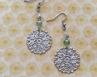 Featherweight night out earrings