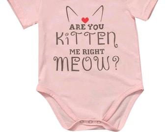 Sweet kitten all in onesy