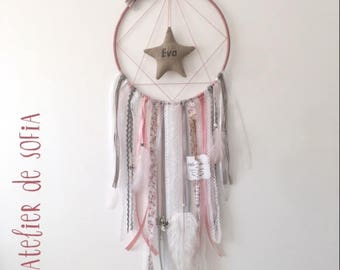DreamCatcher - Dreamcatcher - old pink/gray/linen