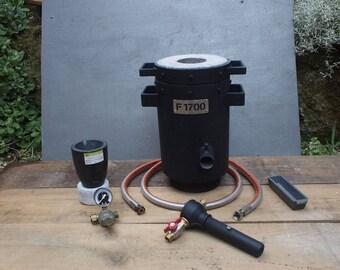 Foundry propane melting furnace Kit