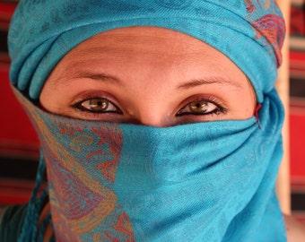 Eyes Digital Print (Middle Eastern)
