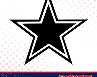 Dallas Cowboys Svg Etsy