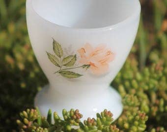 Vintage egg cup Year 70 Arcopal Pyrex