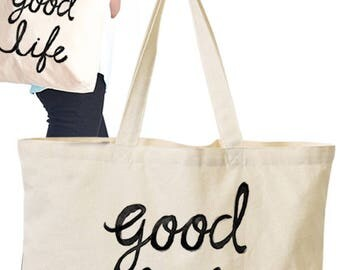 Eco Tote Bag with Graphic Print
