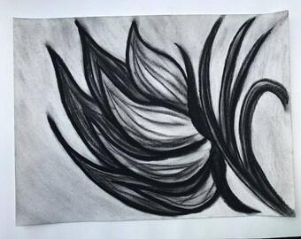 Hand Drawn Charcoal