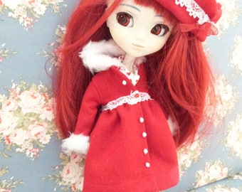 Set beret and coat Pullip