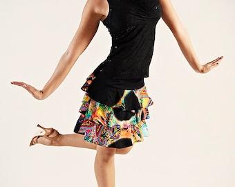 Frilled Funny Skirt