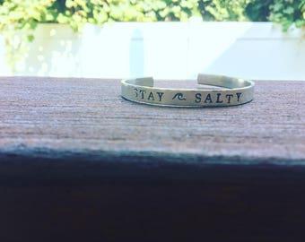 Stay Salty Cuff Bracelet