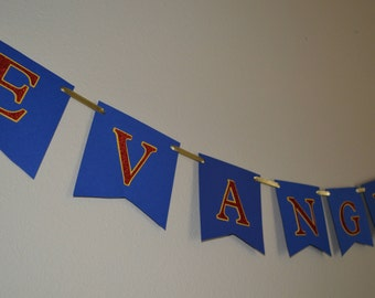 Party Sign or Name Banner