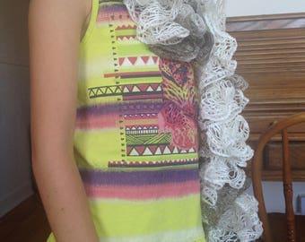 Frou-frou scarf