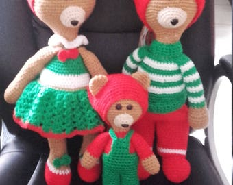 plushie family bear malleches