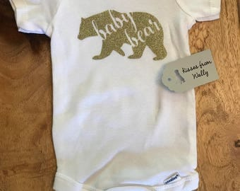 Baby Bear Onesie/Free domestic shipping