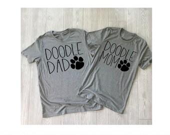 Doodle Mom Shirt- Doodle Dad Shirt -